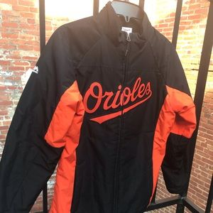 Authentic On Field MLB Baltimore Orioles Jacket